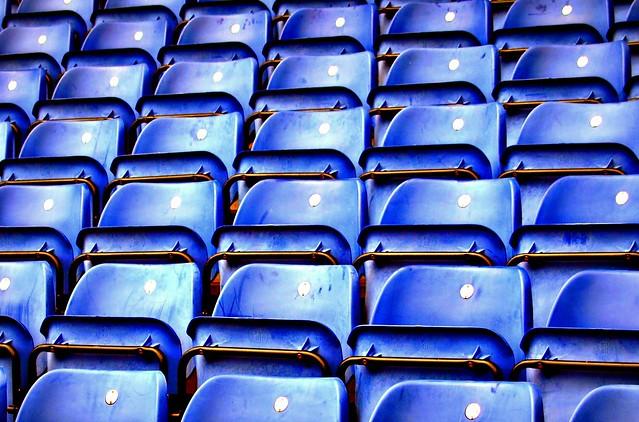 Blue Seating