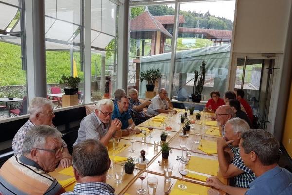 2018 Ehrenmitgliederhöck Rest. Mühle Schönenberg