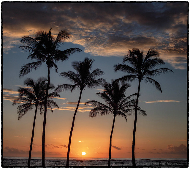 Sunrise, Kapa'a, Kauai.