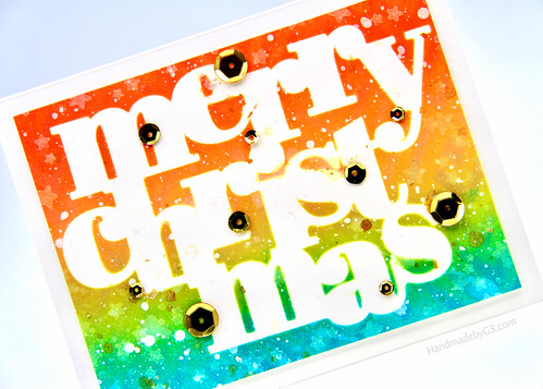 Merry Christmas1 card closeup | by Gayatri Murali