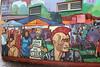 Gegen Rassismus und Ausgrenzung. Graffitti am Kottbusser Tor
