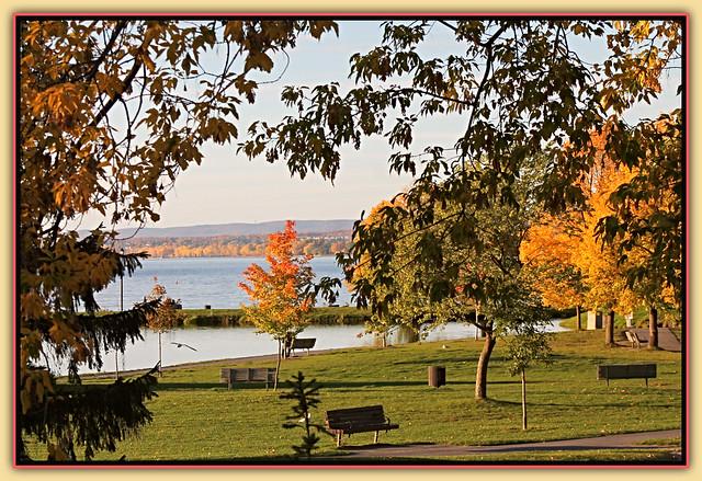 An Autumn View  -HBM
