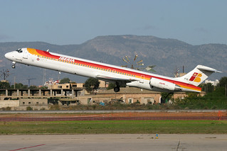 EC-FIG. MD-88. Iberia. PMI.