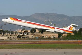 EC-FIG. MD-88. Iberia. PMI.