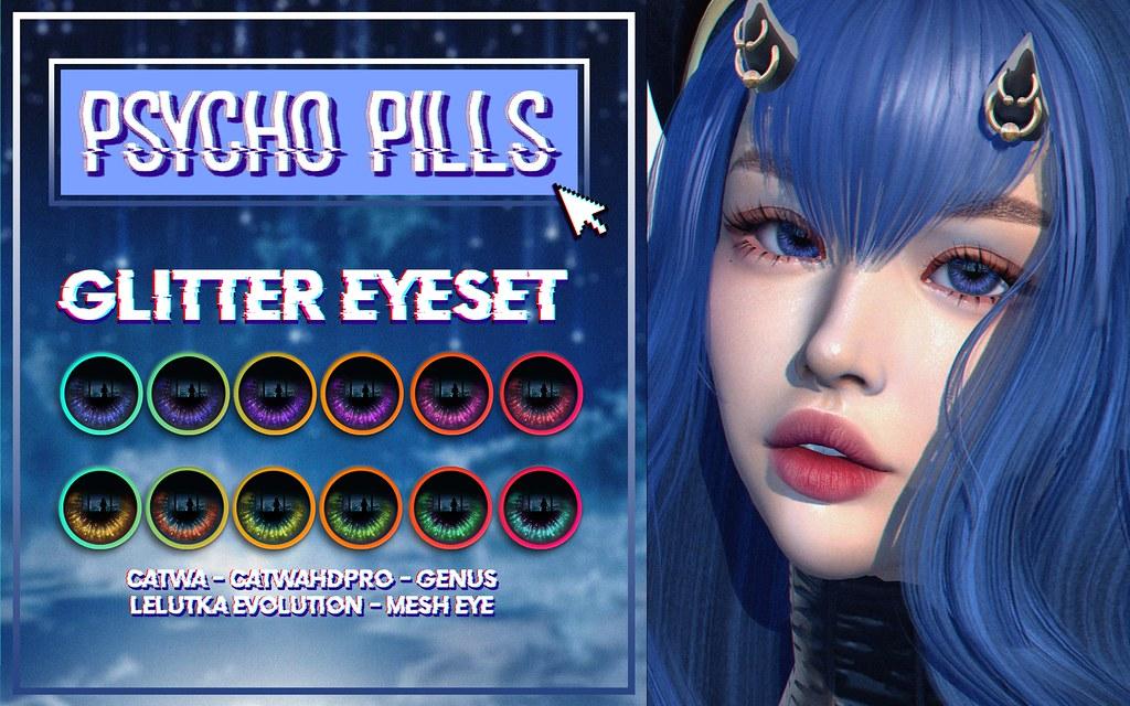 Glitter Eyeset At 2MUCH event