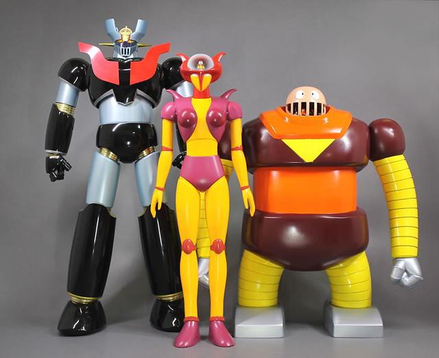 魔神最佳伴侶!EVOLUTION TOY《無敵鐵金剛》木蘭號(アフロダイA)軟膠玩具