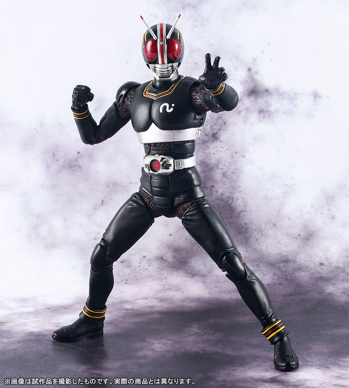 S.H.Figuarts(真骨雕製法)假面騎士BLACK   漆黑戰士以最新技術甦醒!