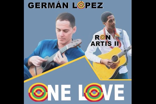 """Portada del lanzamiento digital de """"One love"""", la colaboración de Germán López con Ron Artis II"""
