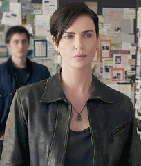 Andy The Old Guard Charlize Theron jacket
