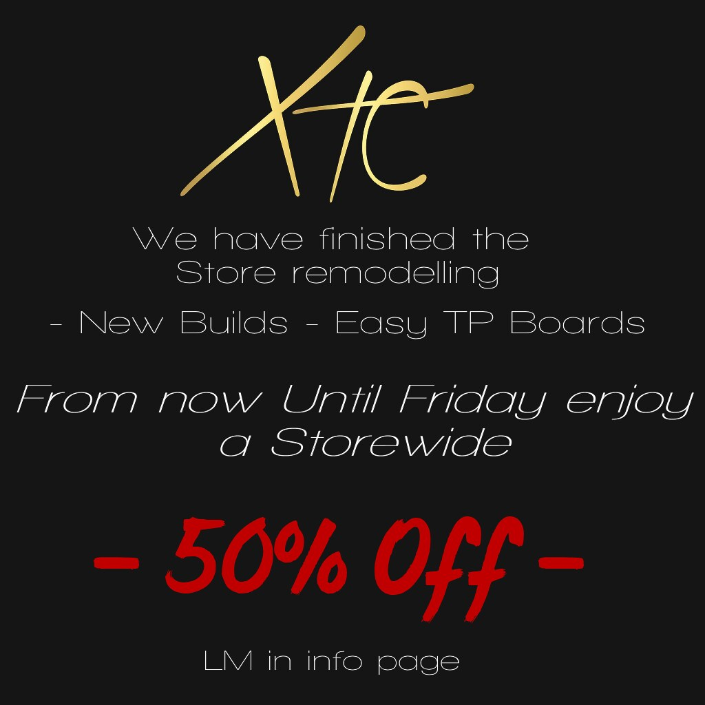 Come grab some bargains!