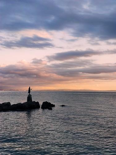 opatija croatia sunset adriaticsea adriatic xiaomi xiaomiminote10 sky