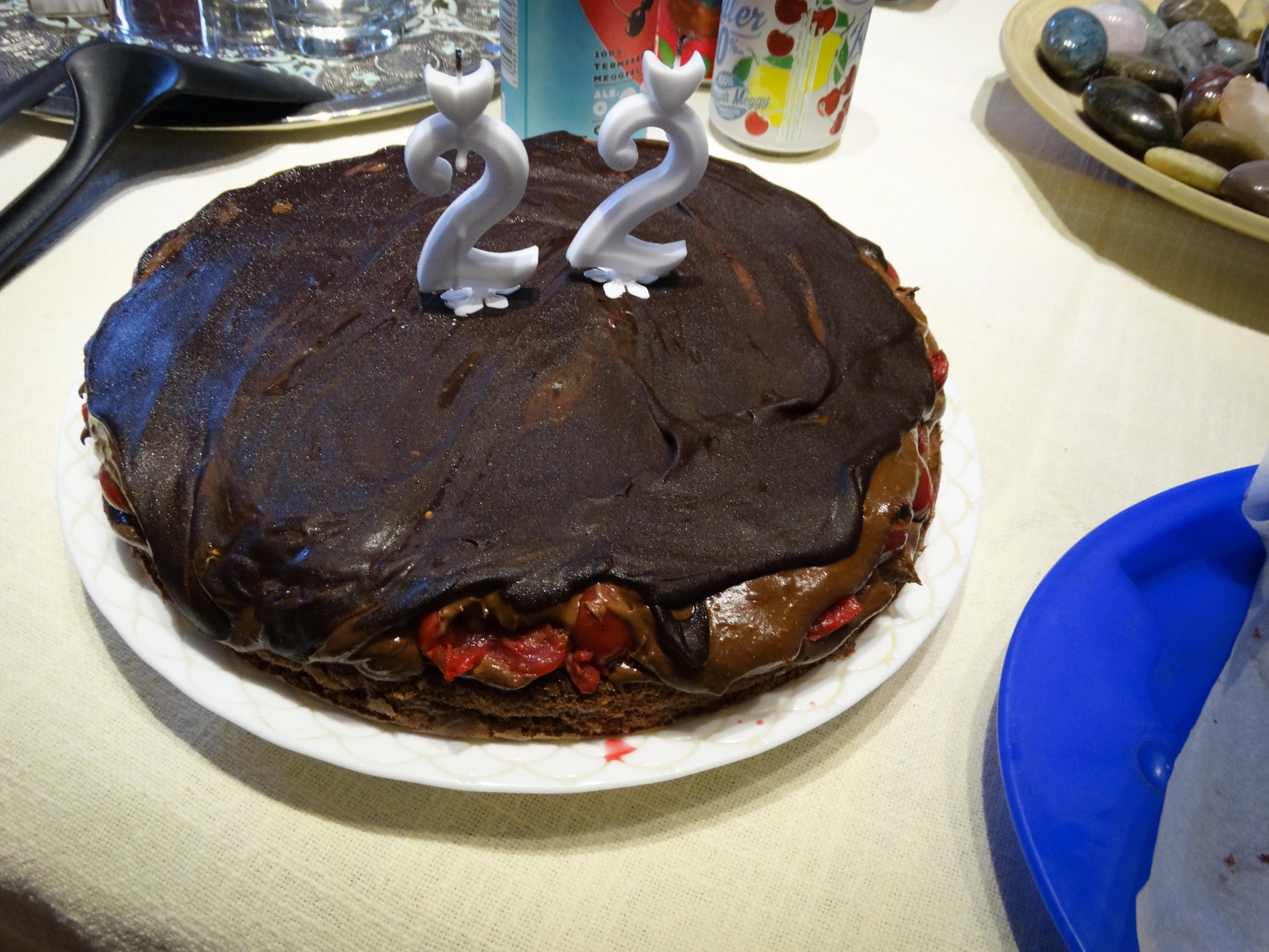 Lúdláb torta 1.