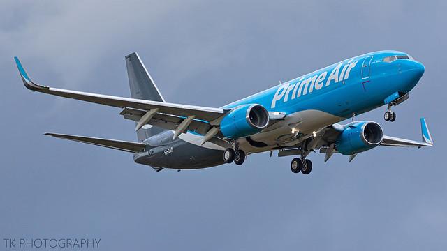 EI-DAD Amazon Prime Air Boeing 737-8AS(BCF)(WL)