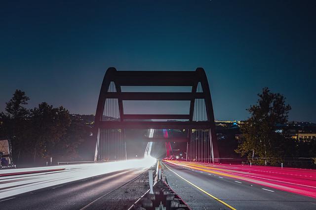 Pennybacker Bridge at Night