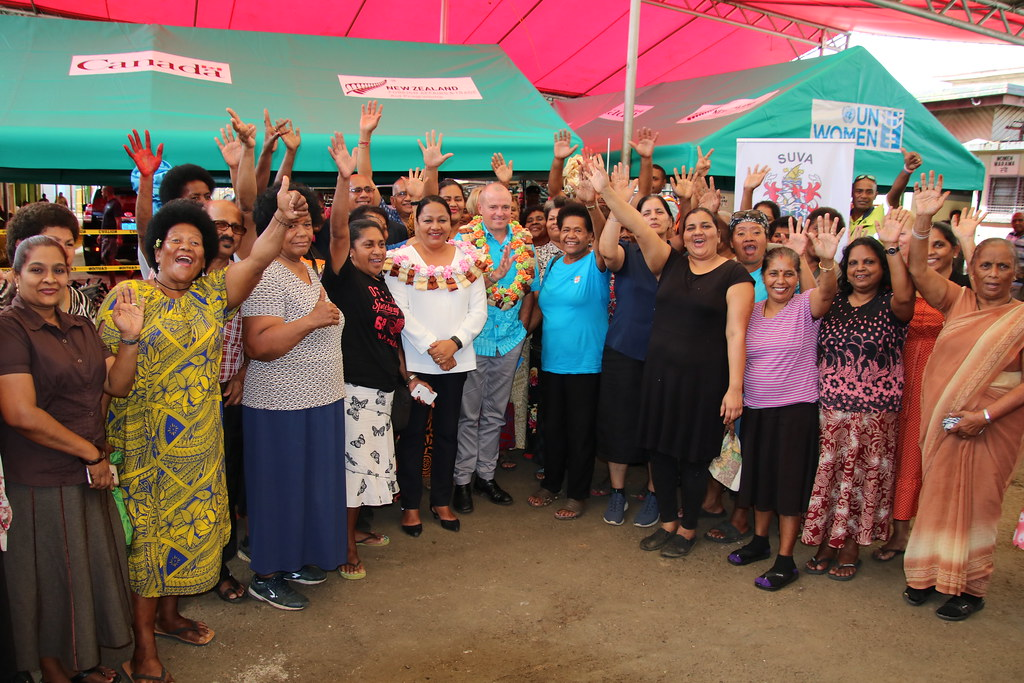 Fiji - Additional tents to promote social distancing at markets