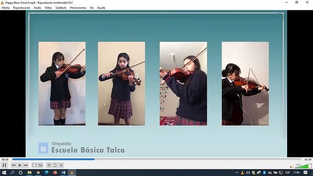 Presentación Orquesta CEST online