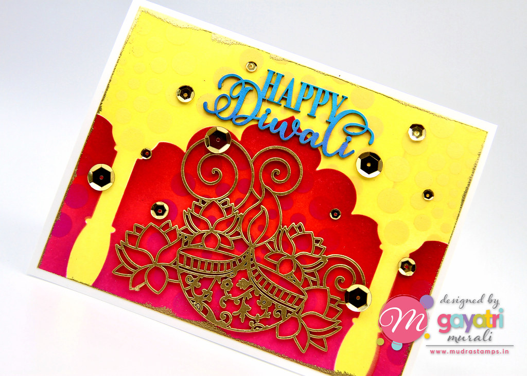 Happy Diwali1 card closeup1