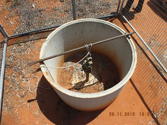 Pilliga forest low point drain sinking 291116