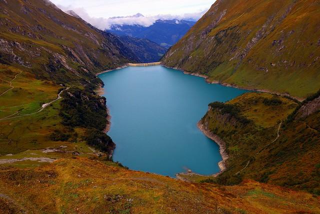 Unforgettable moments of alpine autumn