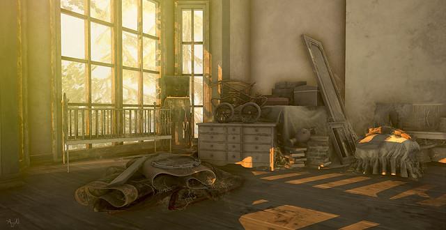 Abandon Childs room