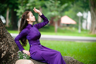 PQT_0092 Ao dai tim | by patpq80