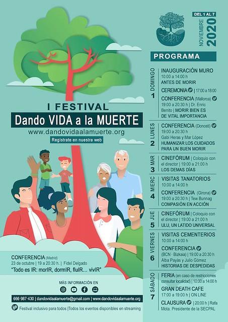 """I Festival """"Dando vida a la muerte"""""""