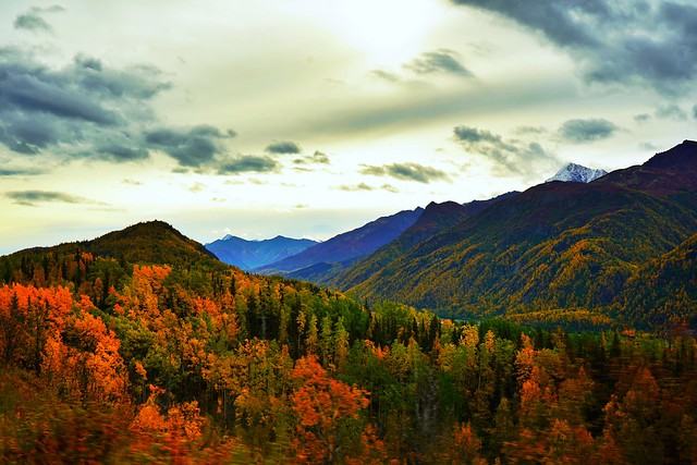 Colors in the Matanuska Hills