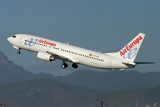 EC-JBL. B-737/800. Air Europa. PMI.