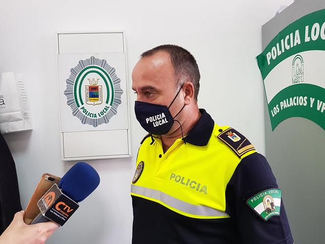 Jefe de la Policía Local de Los Palacios - Declaraciones sobre primera noche de Toque de Queda