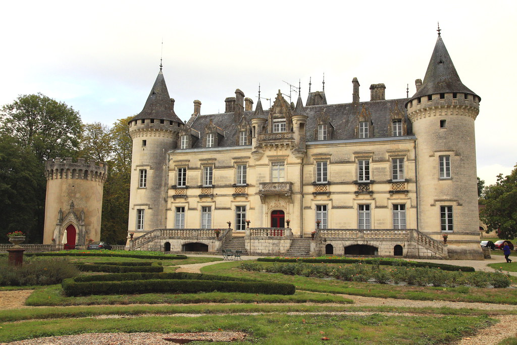 France - Chateau at Nieuil