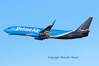 B737-8AS(BCF) EI-DAD AMAZON PRIME AIR\ASL AIRLINE