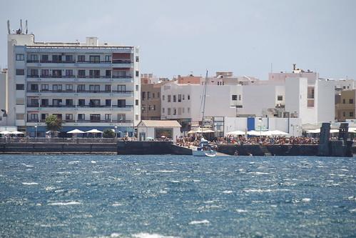 Imagen de archivo del Muelle de Arinaga