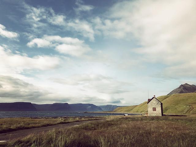 on the shores of Arnarfjörður