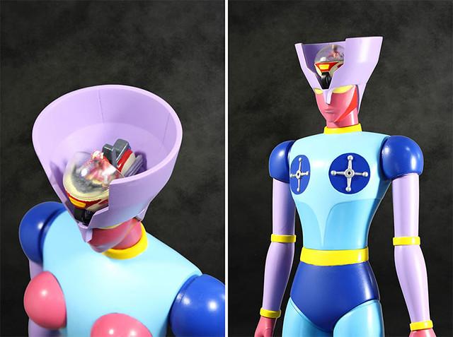 粉紅熱線發射!EVOLUTION TOY《無敵鐵金剛》木蘭二號(ダイアナンA)軟膠玩具