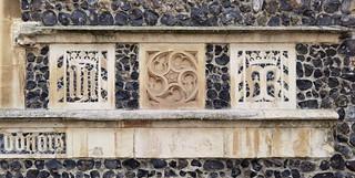 IHS, St Catherine wheel, AMR