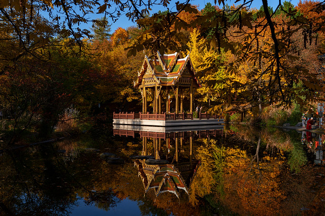 Tempel im Westpark
