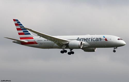 American Airlines Boeing 787-8 Dreamliner N814AA