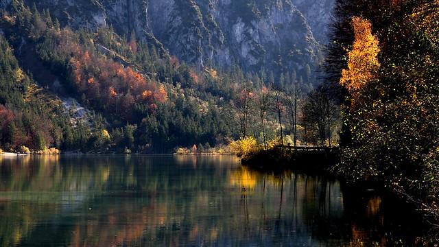 Herbsttag am See - Journée d'automne au bord du lac