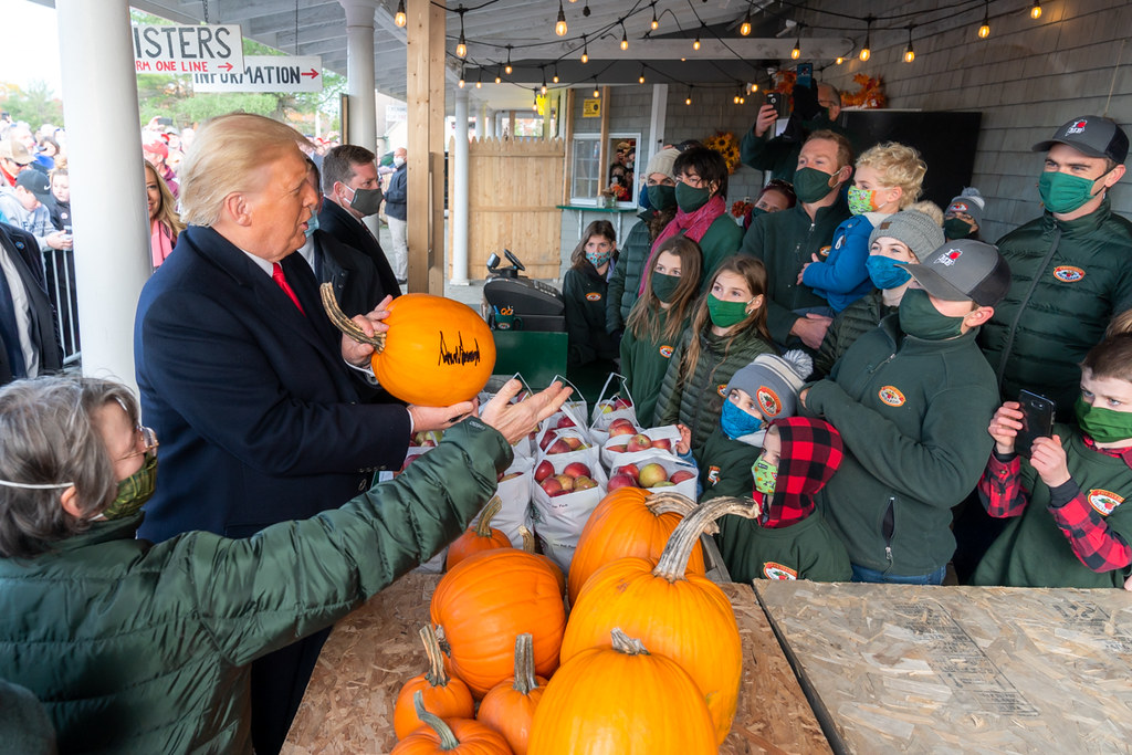 President Trump Travels to Maine