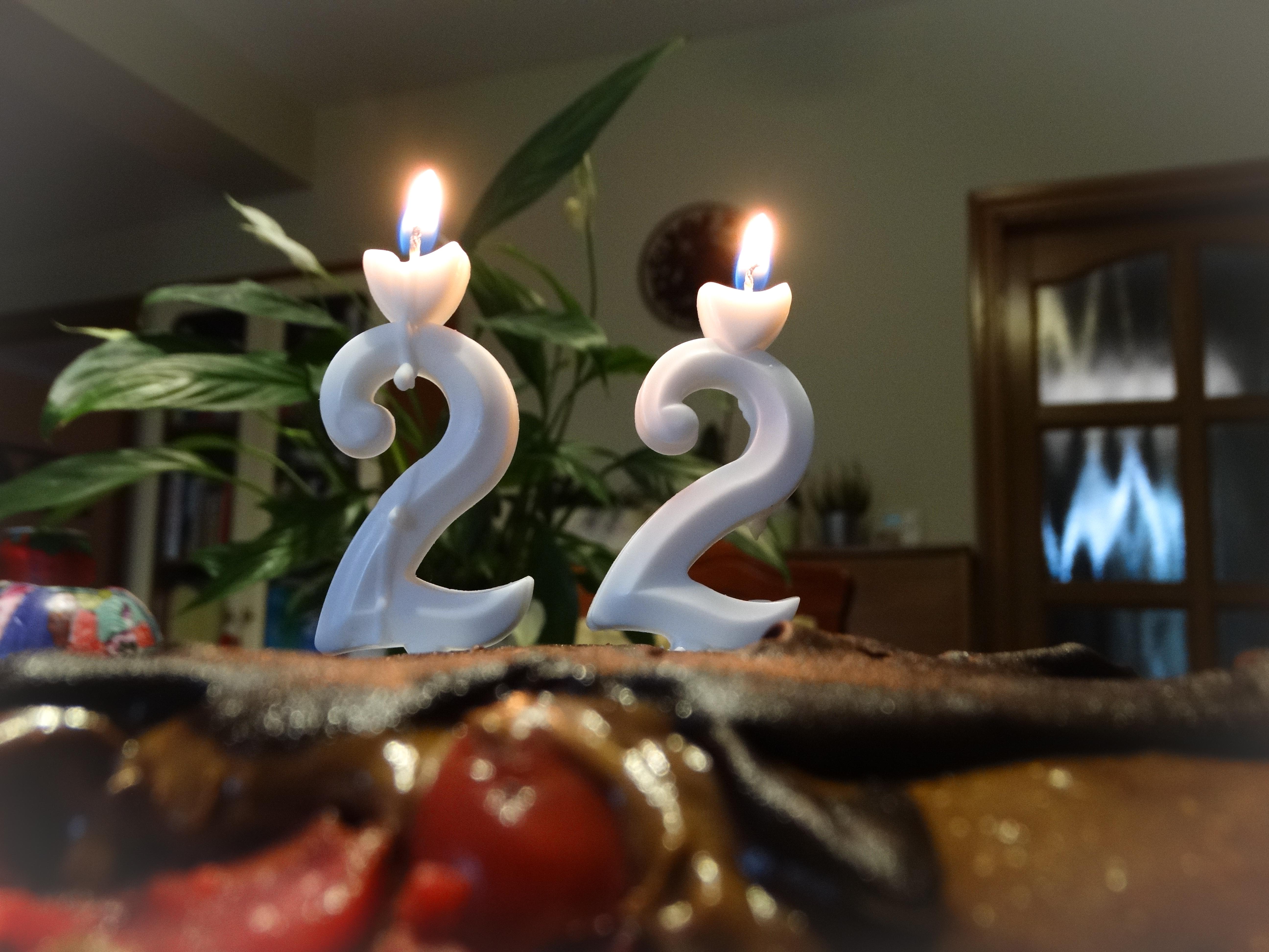 Gyertyák a tortán 1.