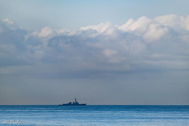 Sailing the ocean blue