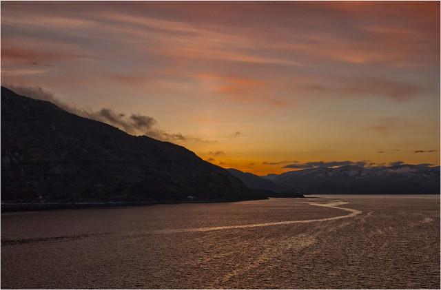 Norwegen Fjord Sunrise