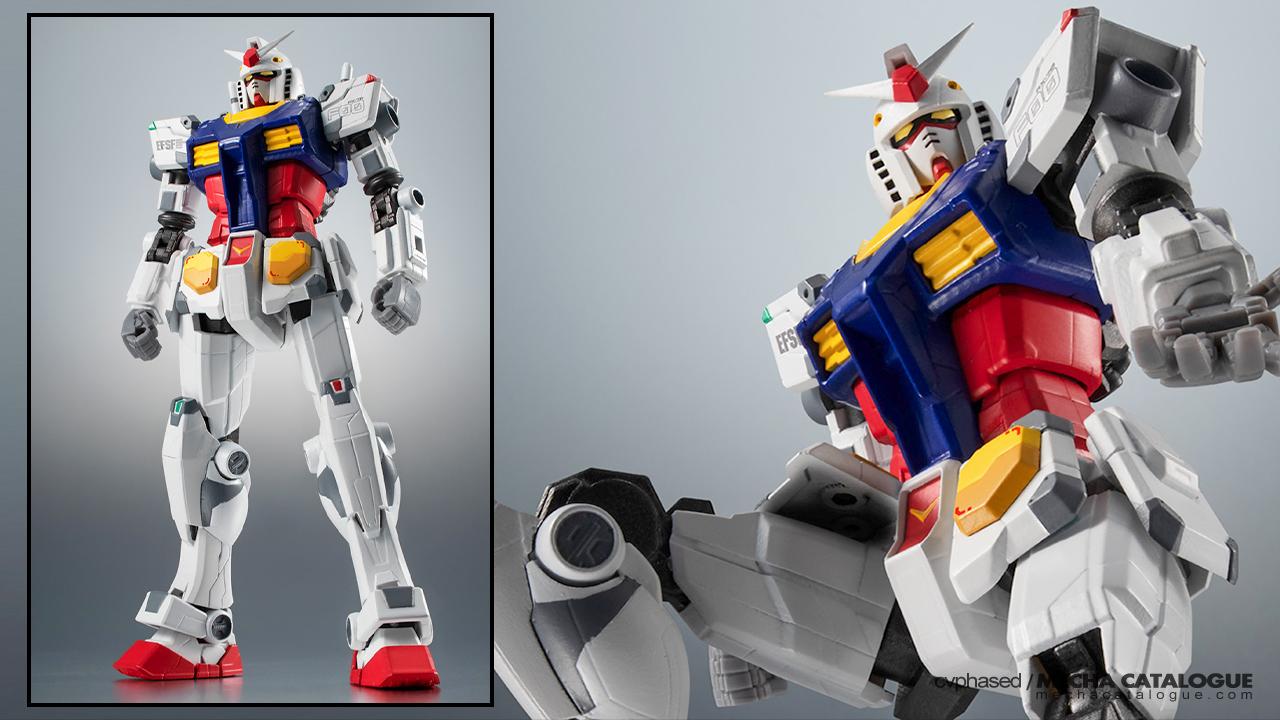 Tamashii Nations Joins the RX-78F00 Bandwagon