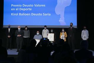 26/10/2020 - Yuwa India Trust y Kemen, Premio Deusto Valores en el Deporte 2020