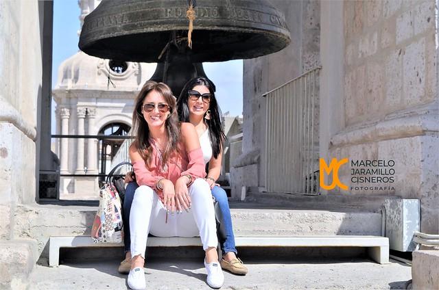 Turistas en el campanario de la Catedral