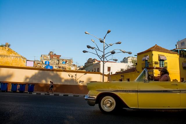 Cuba - habana street - The tree of light