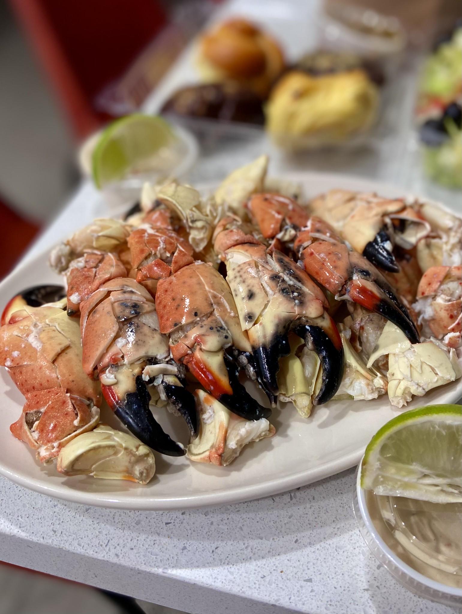 Stone Crabs - Joe's Stone Crab (Miami Beach)