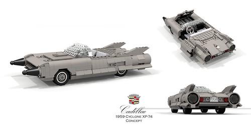 Cadillac Cyclone XP-74 Concept (1959)