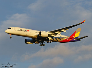 F-WZFQ Airbus A350 Asiana Airlines