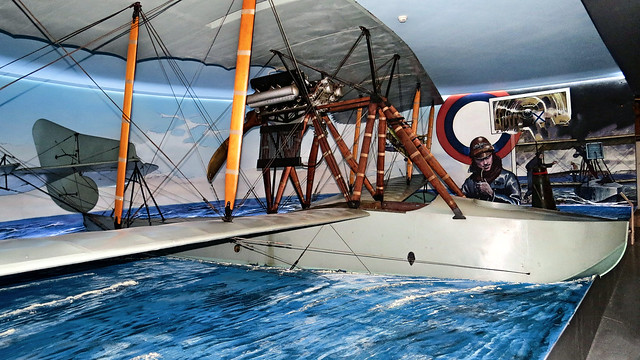 Krakow, Aviation Museum... reconnaissance flying boat of WWI Imperial Russian Navy on display